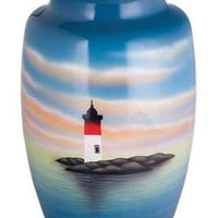 Hand Painted Light House - IUHP113