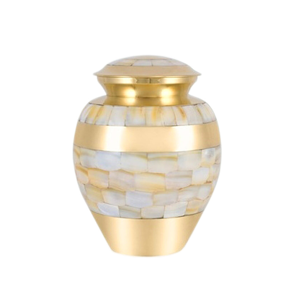 Baby Mother Of Pearl Cremation Urn- IUIN106