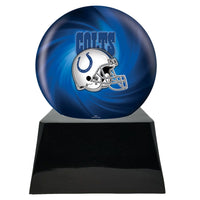 Football Trophy Urn Base with Optional Indianapolis Colts Team Sphere