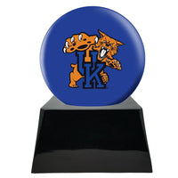 College Football Trophy Urn Base with Optional Kentucky Wildcats Team Sphere
