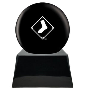 Baseball Trophy Urn Base with Optional Chicago White Sox Team Sphere