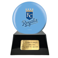 Baseball Trophy Urn Base with Optional Kansas City Royals Team Sphere