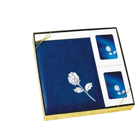 MOP Blue Rose - Urn & Stationary Box Set - IUMOP105 SET