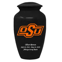 Oklahoma State Cowboys Adult Memorial Cremation Urn - IUOKS100