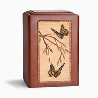 Adorn Monarch Wooden Urn - IUP11