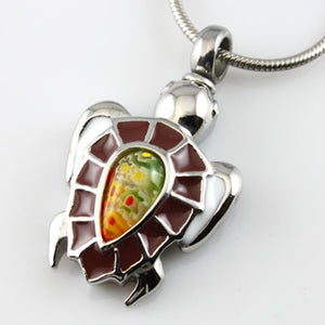 Brown Turtle Pendant- IUPN167