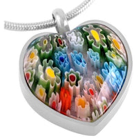 Multi colored Heart Pendant - IUPN210