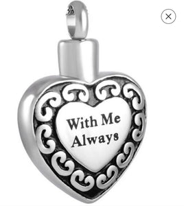 """With Me Always"" Heart Pendant - IUPN213"