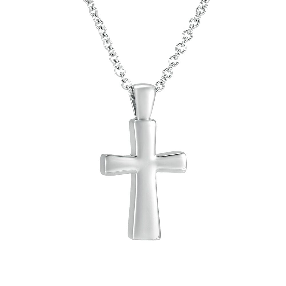 Silver Full Cross Pendant - IUPN227