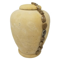 Ocean Pebble Natural Sand Biodegradable Urn - IUSAN103