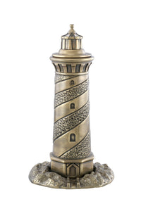 Gold Lighthouse Urn - IUSC118
