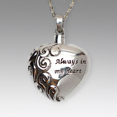 Silver Always in My Heart Jewelry- IUSPN100