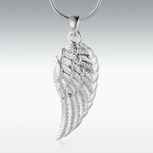 Silver Wings of an Angel Jewelry- IUSPN101