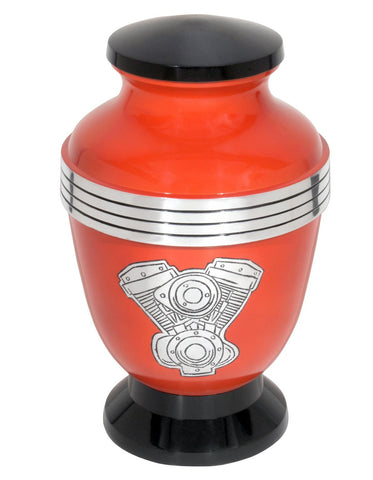 Motorcycle Engine Themed Urn - IUSY102