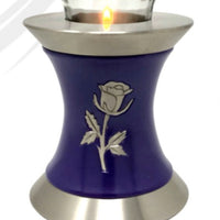 Wings to Eternity Rose Tealight Cremation Urn - IUTL117