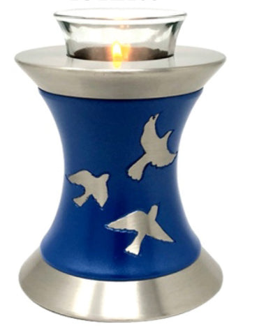 Wings to Eternity Tealight Cremation Urn- IUTL119