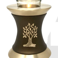 Solace Tree Tealight Cremation Urn - IUTL120