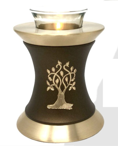 Solace Tree Tealight Cremation Urn -IUTL120
