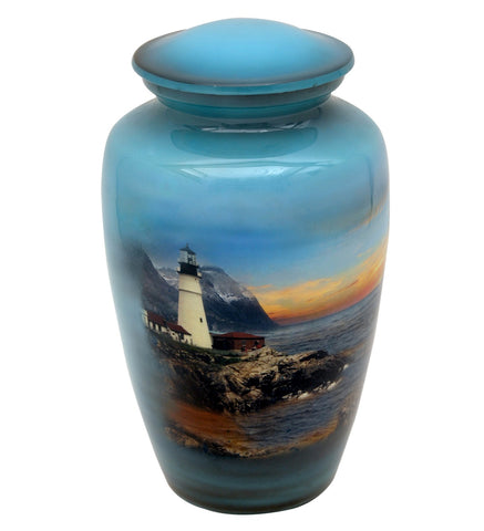 Light House Theme Cremation Urn- IUTM108
