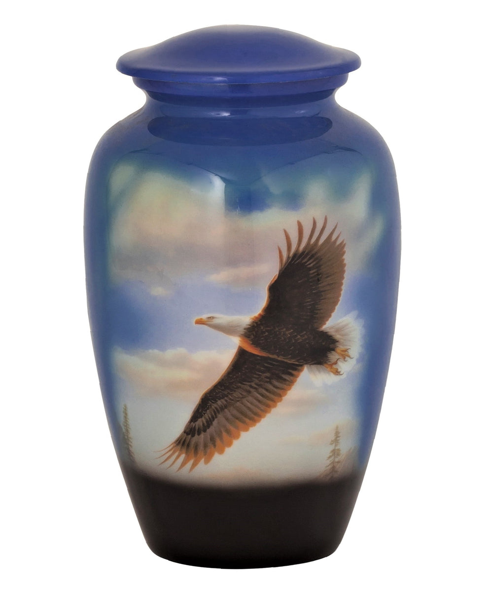 Soaring Eagle Theme Cremation Urn - IUTM114