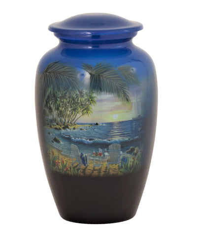 Summer Breeze Bay Theme Cremation Urn- IUTM119