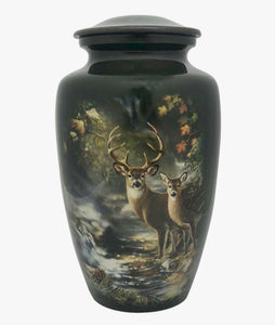 Deer Theme Cremation Urn - IUTM129