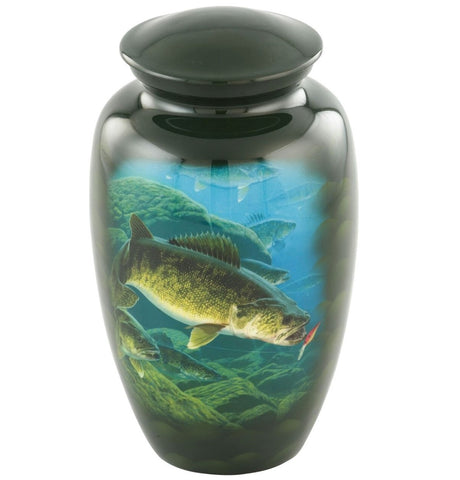Walleye Theme Cremation Urn- IUTM131