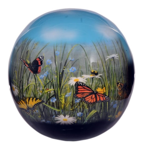 Eternal Butterfly Sphere of Life Cremation Urn - IUFH115