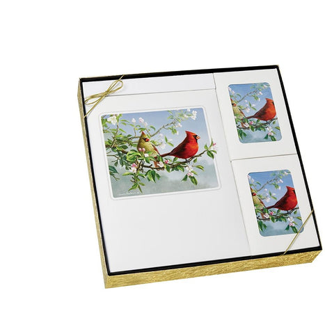 Theme Cardinal - Urn & Stationary Box Set - IUTM112 SET