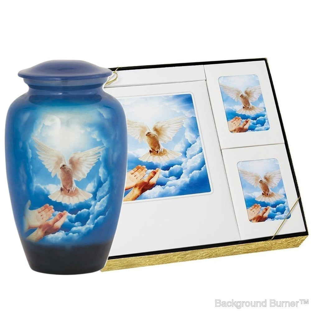 Theme Dove - Urn & Stationary Box Set - IUTM113 SET