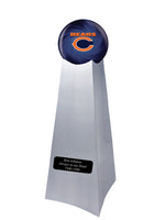 Championship Trophy Urn Base with Optional Chicago Bears Team Sphere