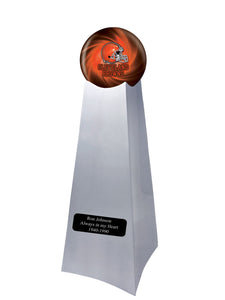 Championship Trophy Urn Base with Optional Cleveland Browns Team Sphere