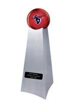 Championship Trophy Urn Base with Optional Houston Texans Team Sphere