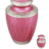 Adorn Cremation Urn with free keepsake - Pink - Overstock Deal