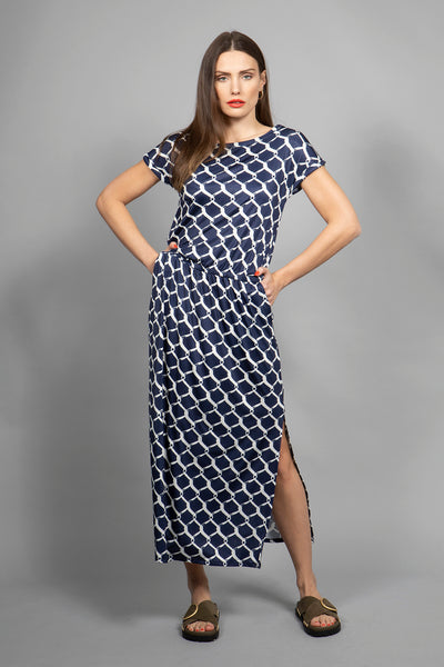 Marivie So what! Dress fence navy