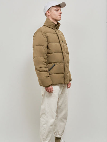 Embassy of Bricks and Logs Union M's Puffer Jacket olive