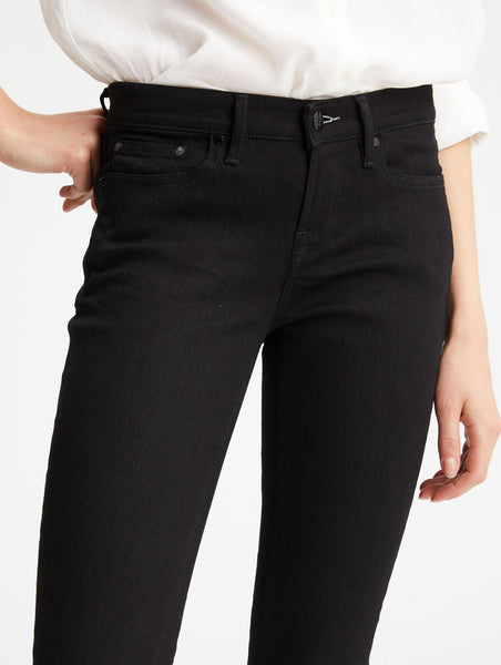Denham Monroe GRPB W's Jeans Girlfriend tapered fit washed black