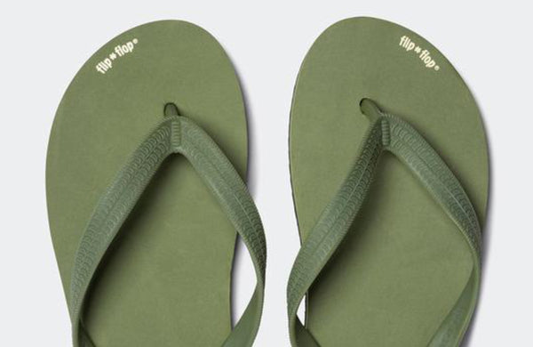 Flip Flop originals bold olive / black