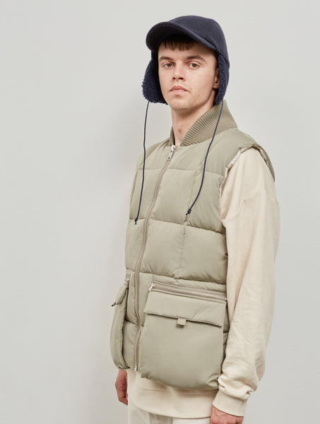 Embassy of Bricks and Logs Kamloop M's Vest pale olive