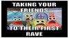 Tips for first time raver