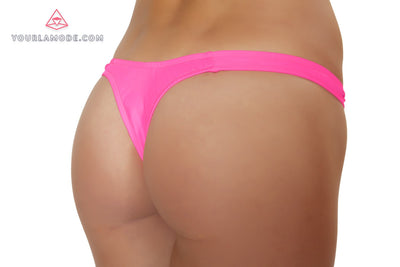 Hot Pink Tricot thong - J Valentine, Rave Costume - YourLamode - 2