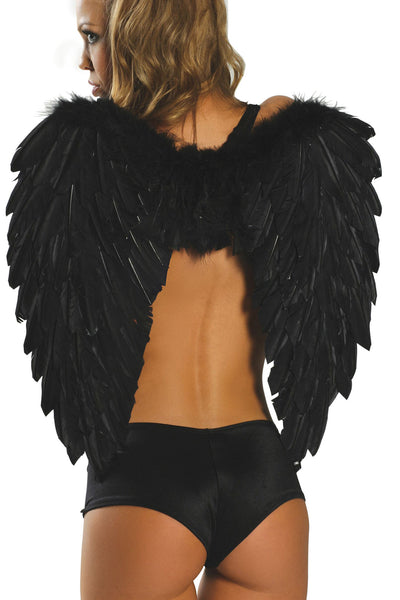 Angel feather wings - Halloween Accessories, Roma - YourLamode