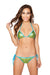 Sea Foam Green 2pc Tie Side Pucker Back Plurmaid Bikini Set