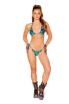 Ruffled Bikini Set - , Roma - YourLamode