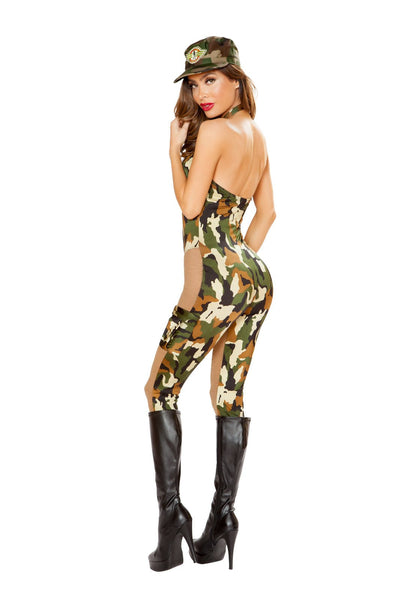 Sassy Army Costume - Costumes, Roma - YourLamode