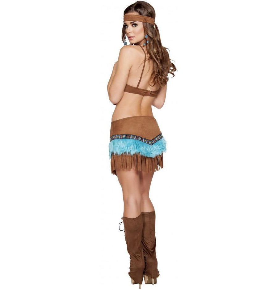Beautiful Indian Babe Costume