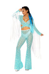 Sequin bell bottoms