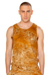 Dye Men's Faux Suede Tank