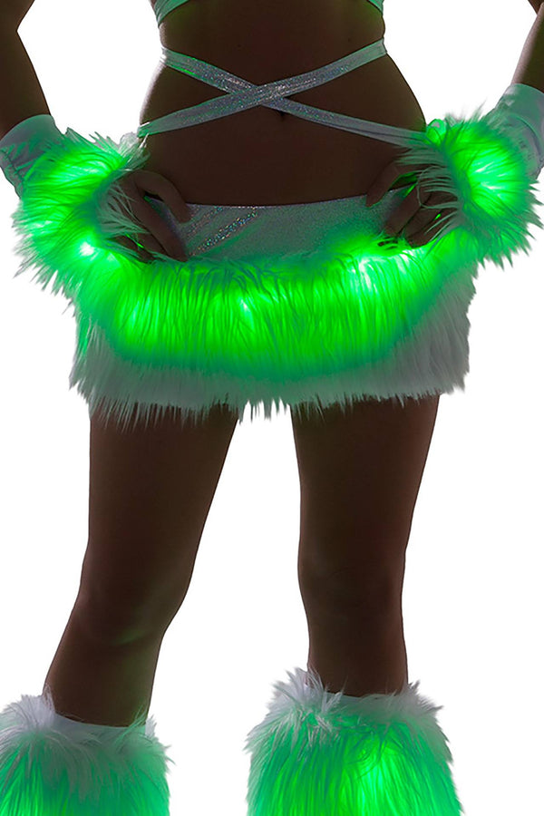 J-Valentine Light-up skirt with LED lights - J Valentine, Light-Up Cropped - YourLamode - 4