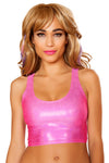 J-Valentine Hologram Low-Cut Tank Top - J Valentine, Hologram Tank Top - YourLamode - 2